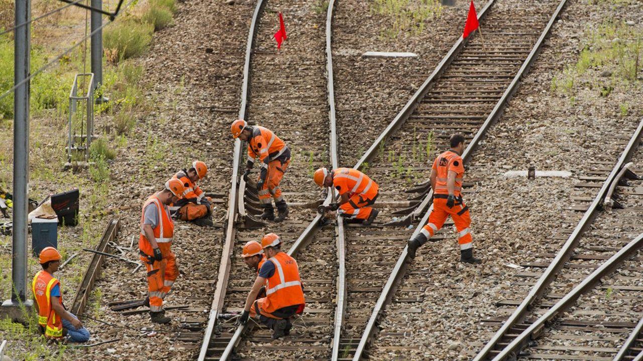Le réseau ferré français pâtirait toujours d'insuffisances dans la maintenance.