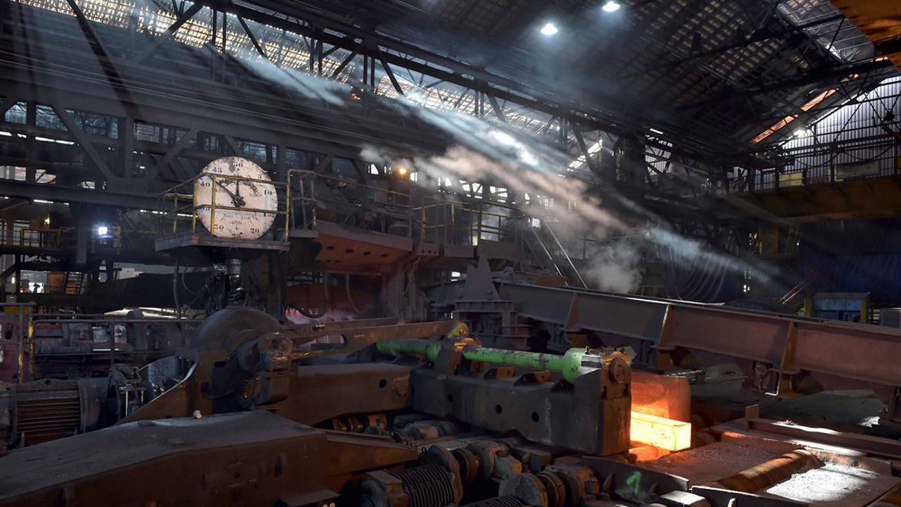 Rachetée par British Steel en 2016, l'usine de rails de Hayange pourrait passer sous le contrôle du fonds de pension militaire turc Oyak.