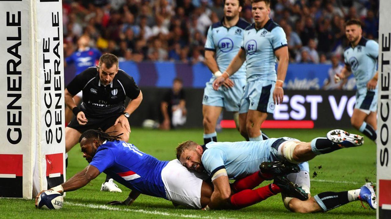 Société Générale, partenaire officiel de la Coupe du monde de rugby, qui se jouera au Japon en septembre, compte sur la compétition pour récolter les fruits de son engagement historique.