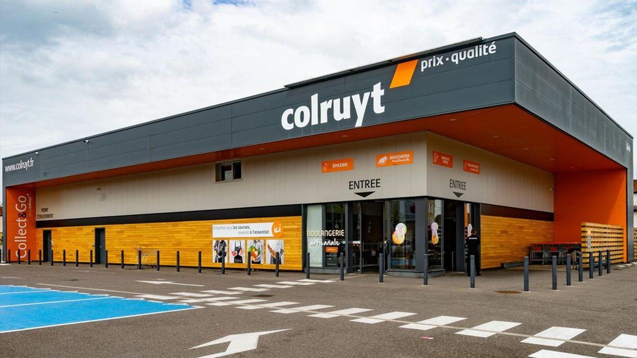 Le groupe Colruyt compte déjà 1.800 salariés en France.