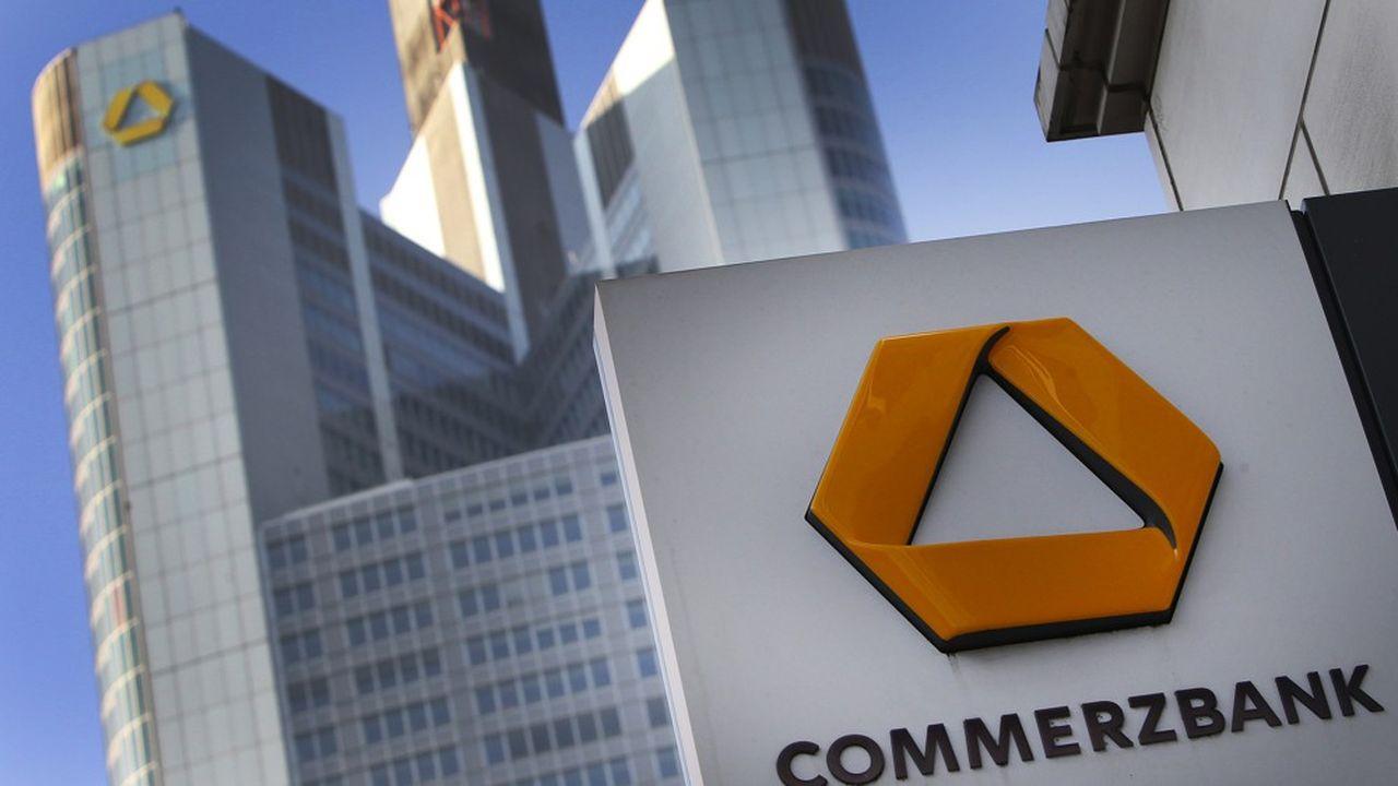 Commerzbank envisage de fermer des agences