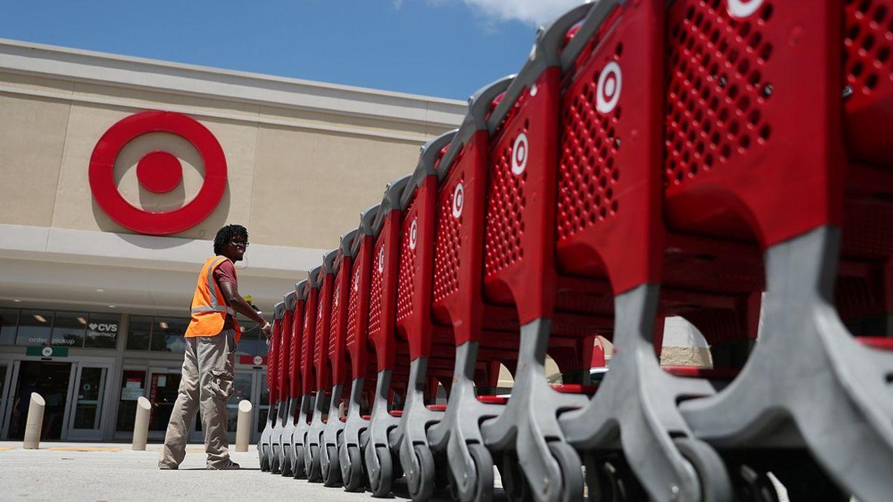 Le cours de Bourse de Target a atteint mercredi son plus haut niveau depuis dix ans.