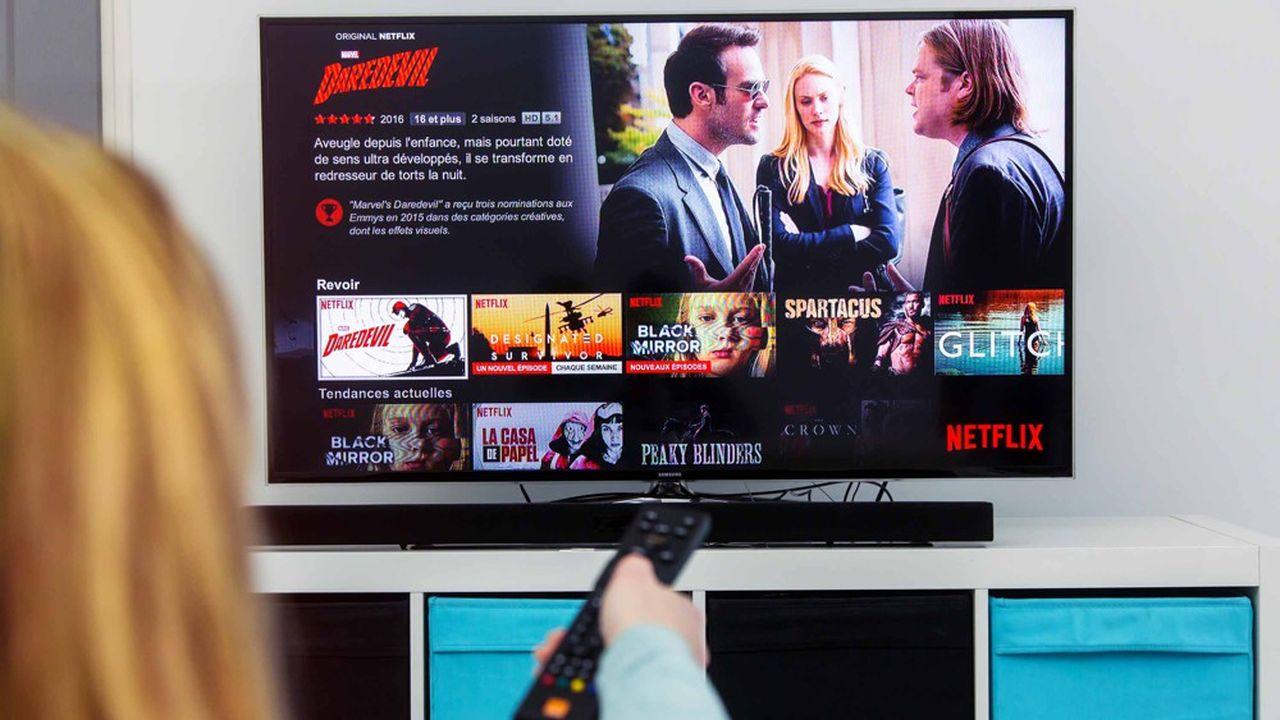 Récemment, l'action de Netflix a chuté de 12%, et le service de vidéo à la demande a enregistré sa première baisse d'abonnés depuis 2011.