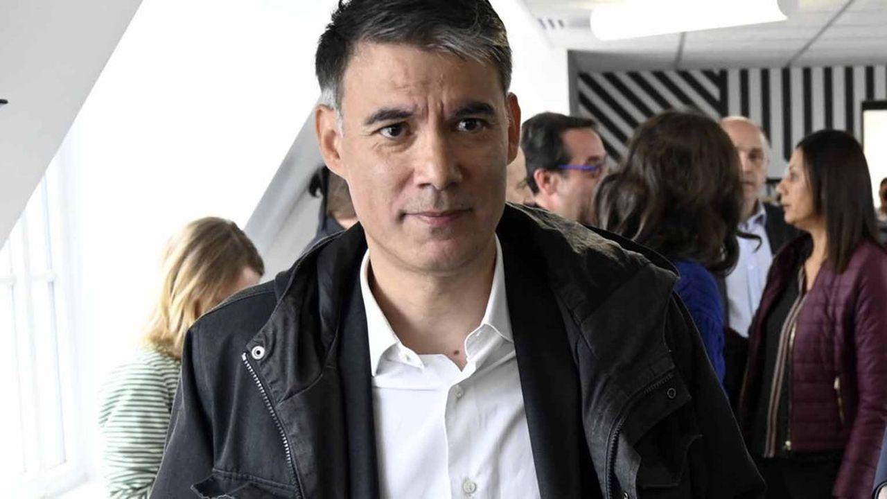 Olivier Faure, premier secrétaire du PS, renoue à LaRochelle avec l'université d'été de son parti.