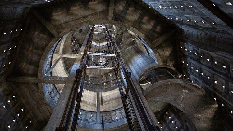Intérieur de la tour Perret.