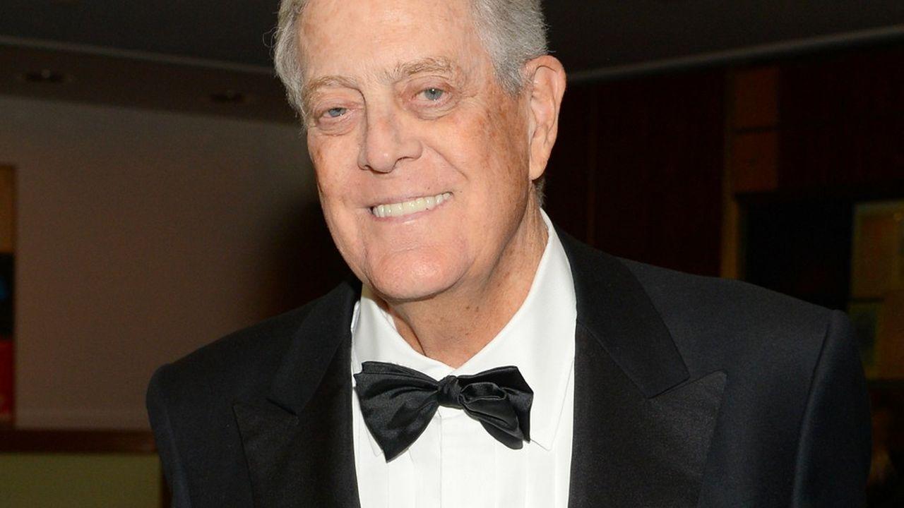 David Kochs'était présenté à la vice-présidence, sur un ticket libertarien, dans les années 1980.