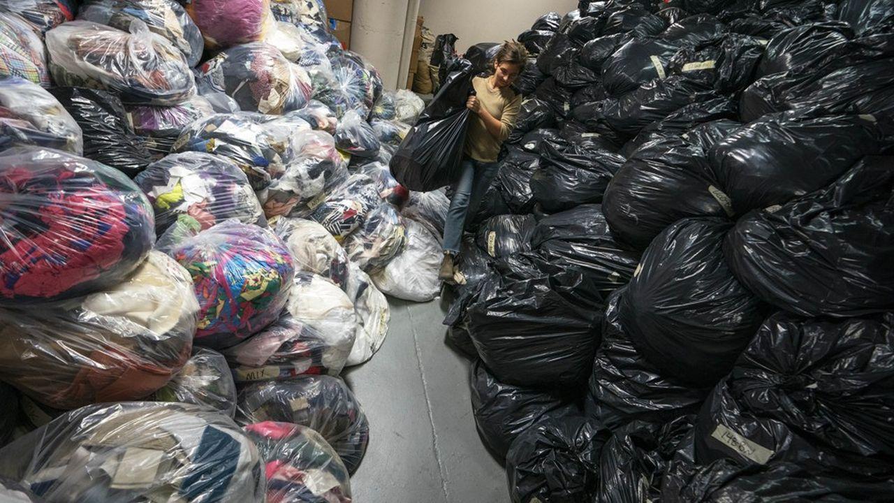 On n'a collecté l'an dernier que 239.000tonnes de textile, de linge de maison et de chaussures (TLC), équivalant à 38% des 624.000 tonnes mises sur le marché en 2018, loin de l'objectif de 50% qui était fixé pour 2019.
