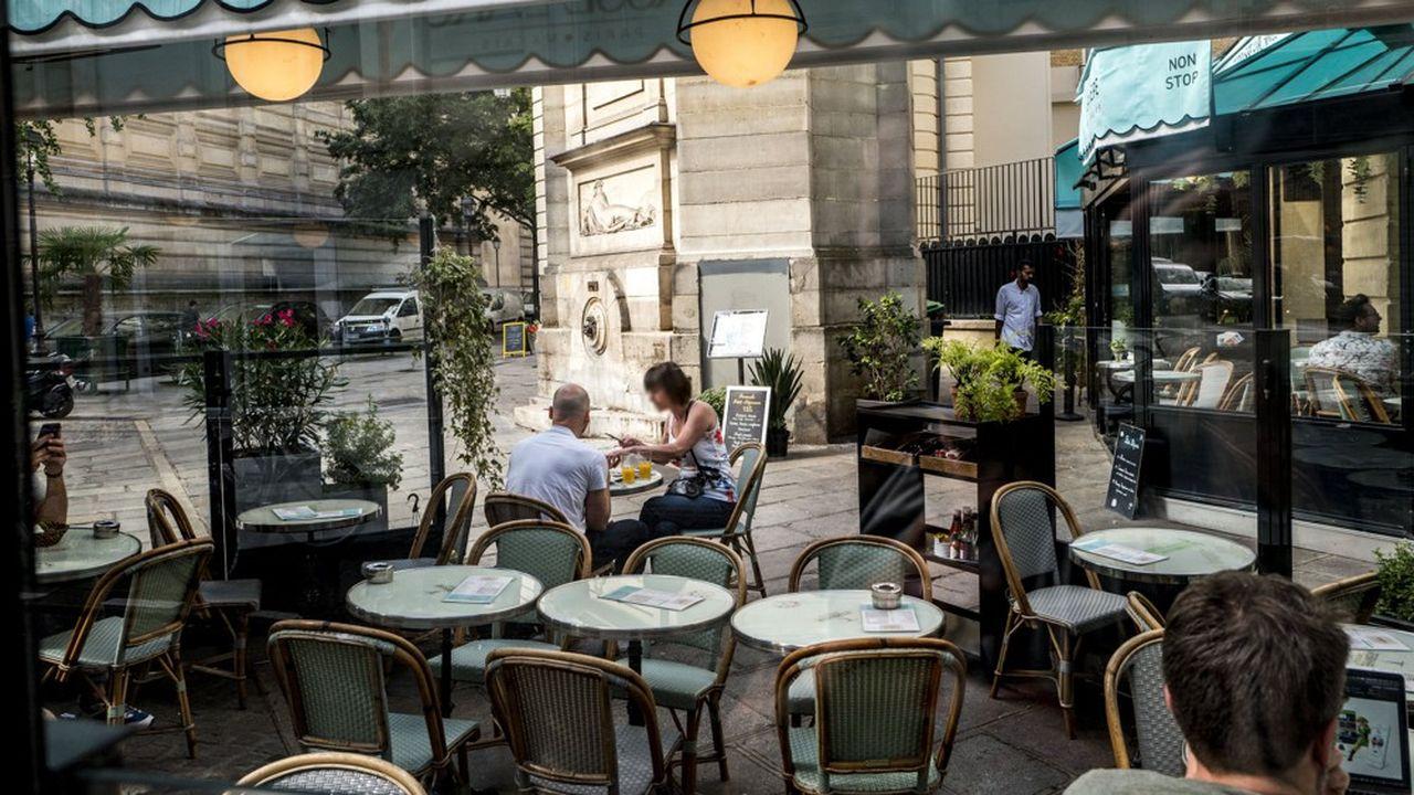 La restauration parisienne a été affectée par le mouvement des «gilets jaunes» au premier semestre 2019, avec notamment des touristes moins nombreux.