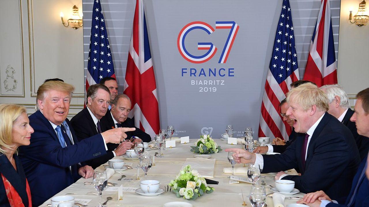 Les deux leaders se rencontraient pour la première fois depuis la nomination de Boris Johnson au poste de Premier ministre.
