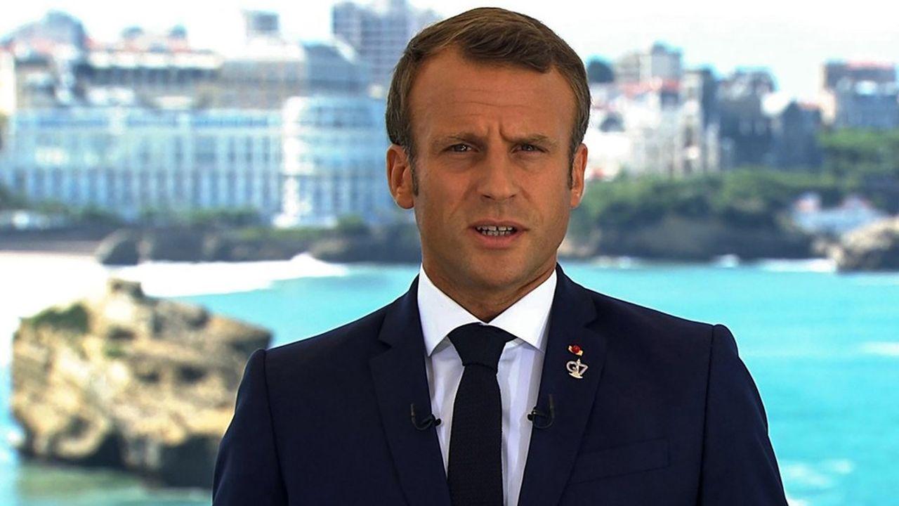 S'exprimant samedi depuis le G7 à Biarritz, Emmanuel Macron a estimé qu'il était temps d'agir sur le climat, en proposant des mesures concrètes pour les océans et la forêt amazonienne.