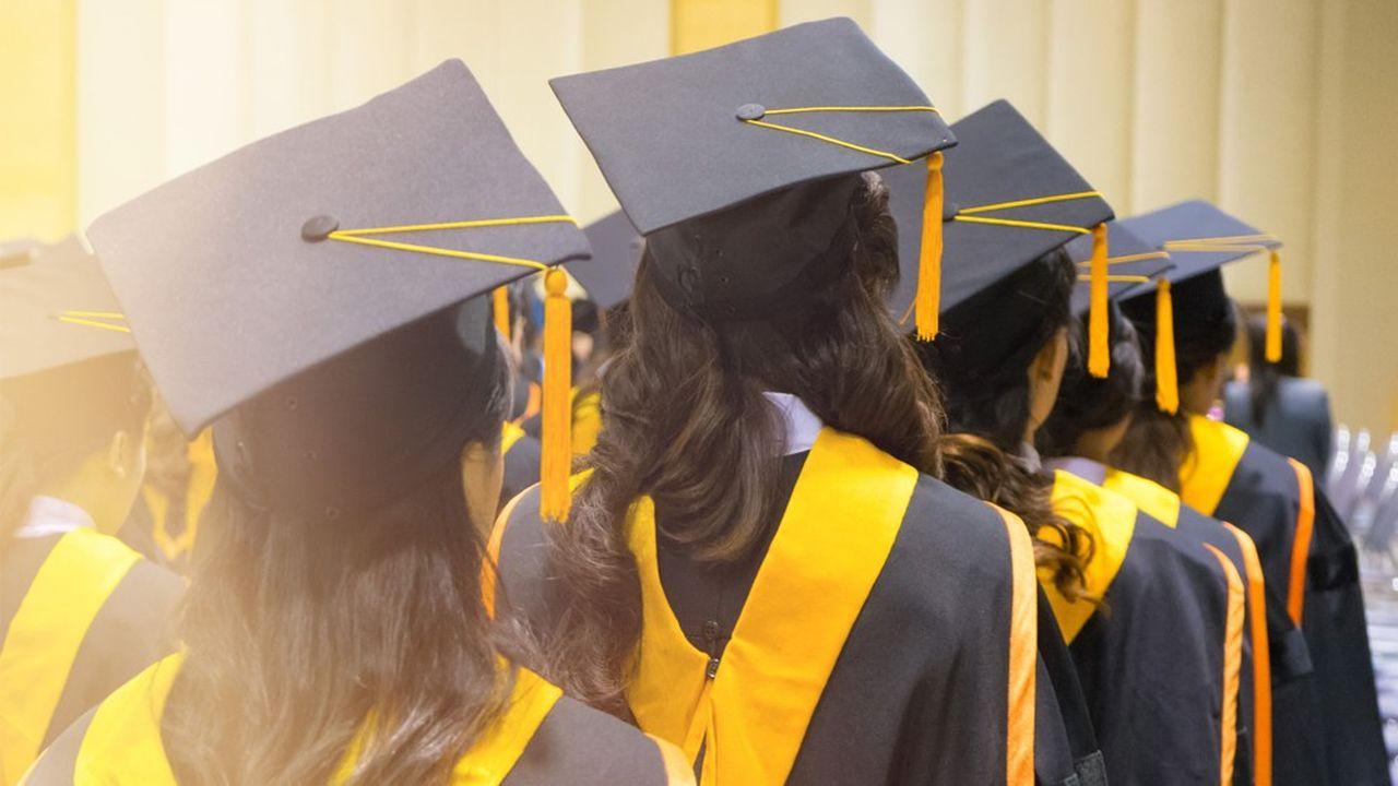 En 2019, les Américaines représentaient 50,2% de la population active diplômée.