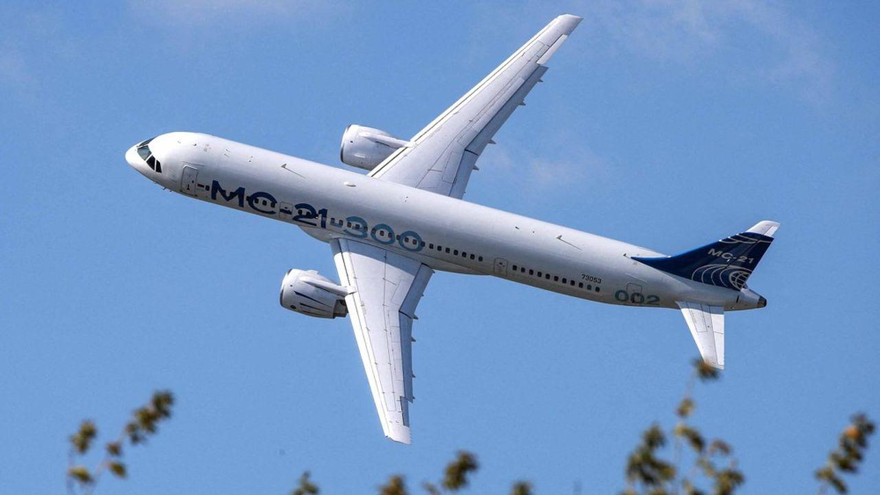 Le MC21 produit par Irkut volera au Salon aéronautique russe. Trois exemplaires de l'avion seront présentés au Maks.
