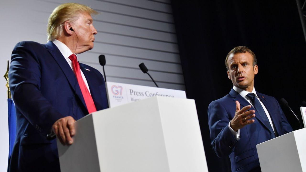 Donald Trump, qui avait menacé de sanctions commerciales contre le vin français, a plaisanté sur le goût de son épouse pour les grands crus français.
