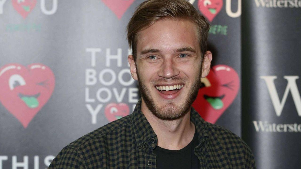 Le Youtuber PewDiePie dépasse les 100 millions d'abonnés