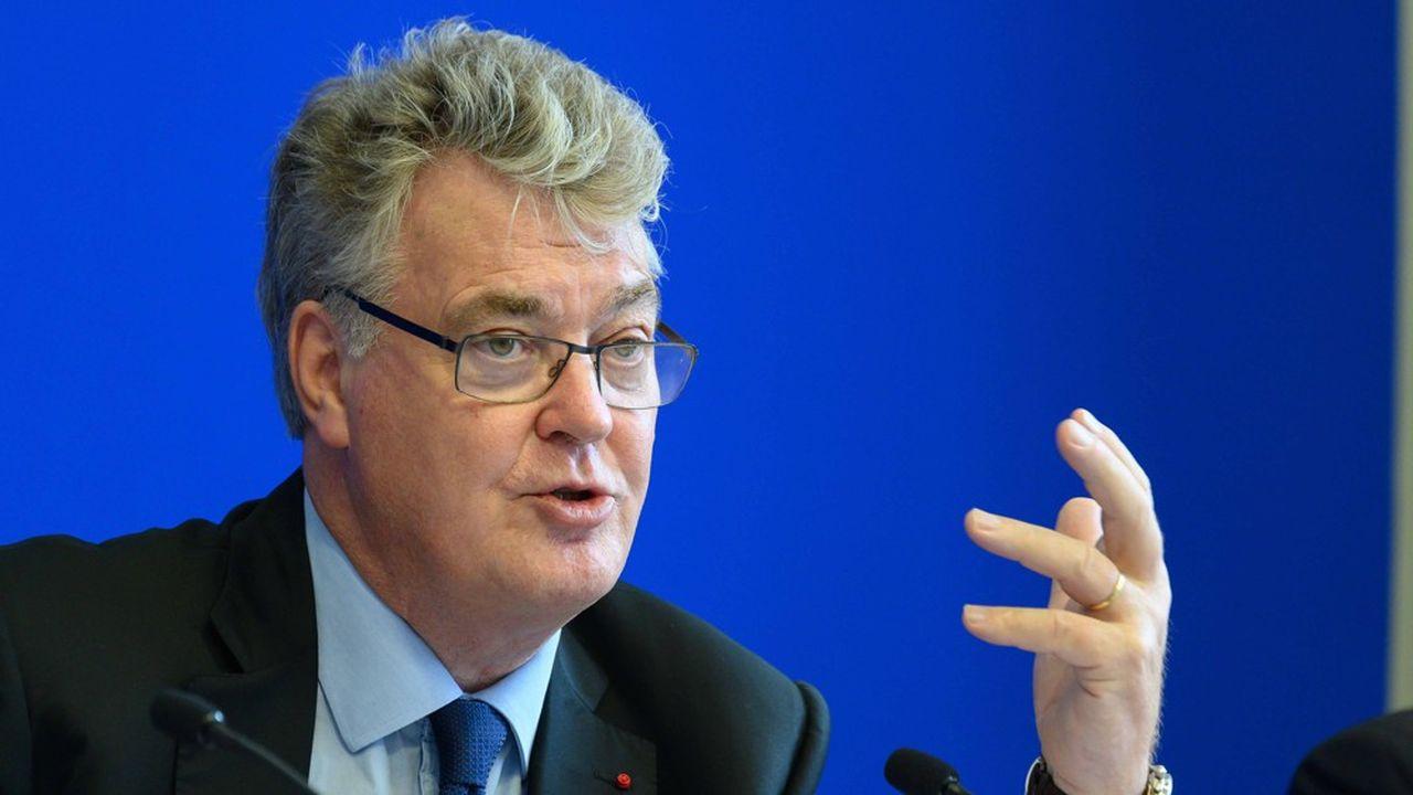 Le haut-commissaire à la réforme des retraites Jean-Paul Delevoye.