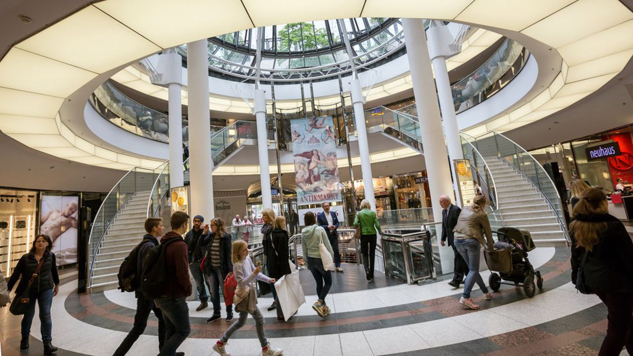 La consommation des ménages joue les amortisseurs pour l'économie allemande grâce à la hausse de 4,8% des salaires nets sur un an.