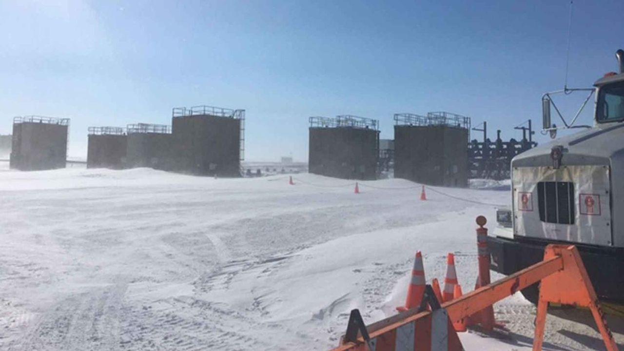 A Prudhoe Bay, le groupe britannique a extrait jusqu'à 1,5million de barils par jour lors du pic de production en 1988