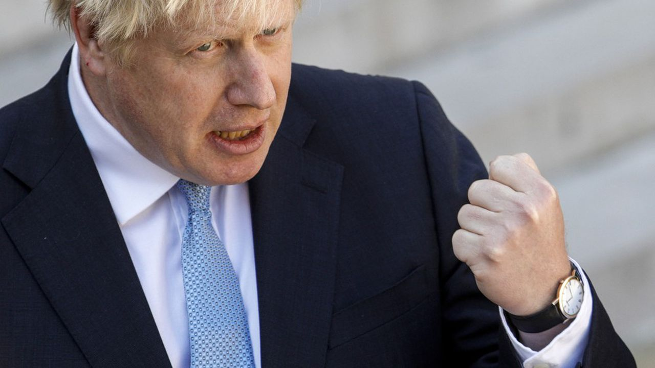 Boris Johnson a décidé ce mercredi d'appuyer sur le bouton atomique.