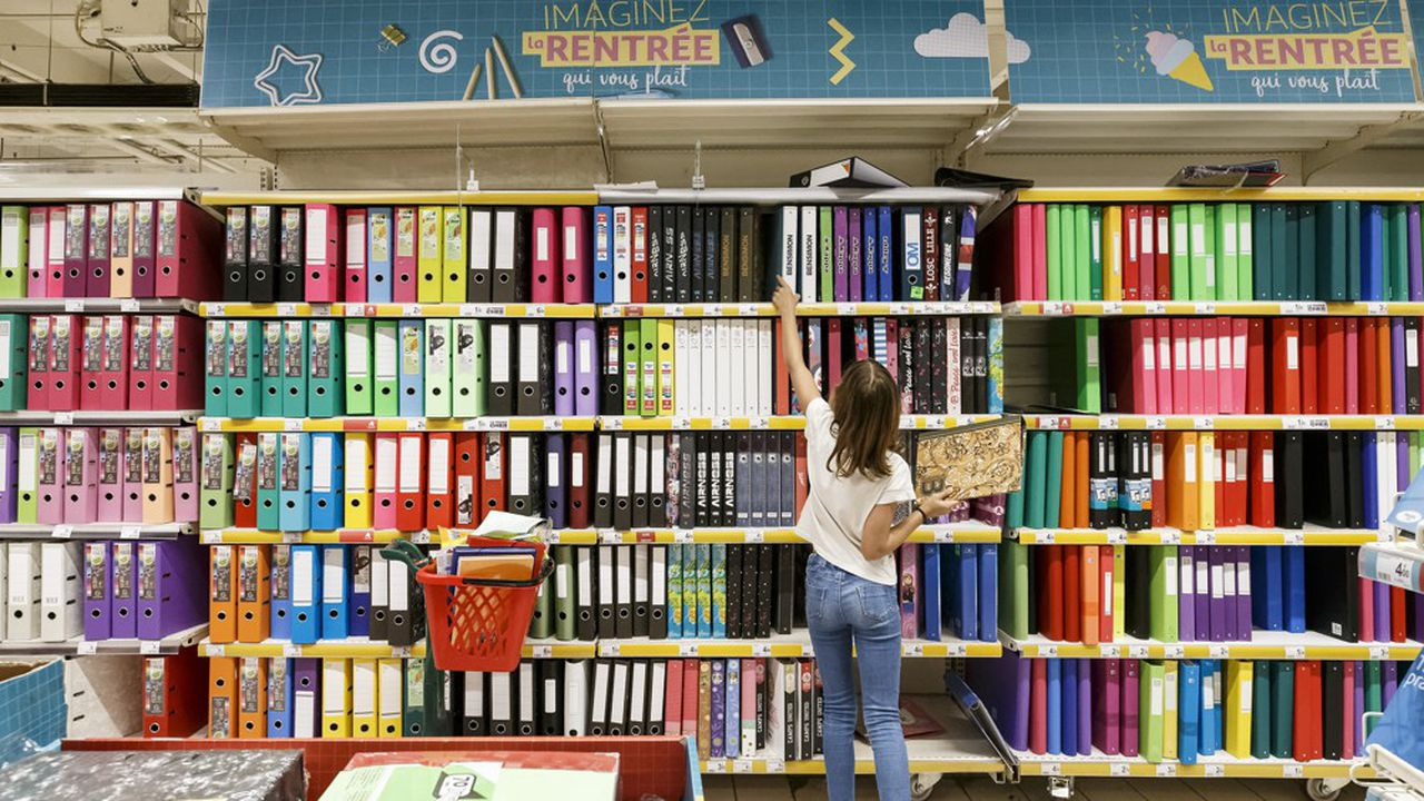 Les circuits spécialisés ont vu leur poids progresser au détriment de la la grande distribution, qui représente toutefois encore plus 70 % des ventes de fournitures scolaires.