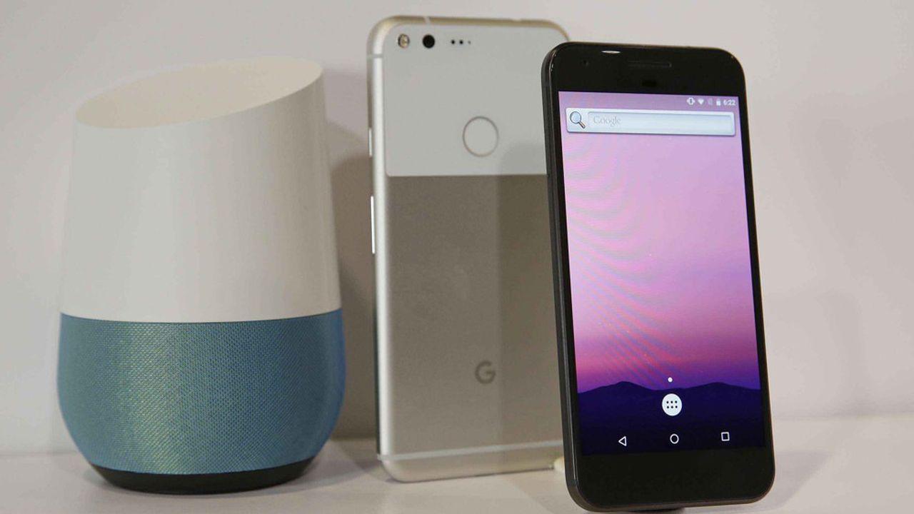 Les ventes de produits physiques ne représentent qu'une très faible part des revenus de Google, encore constitués à 84% par la publicité.
