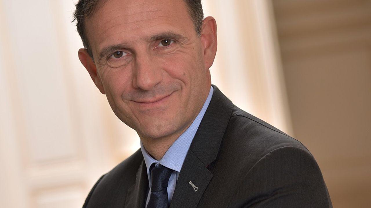 Olivier Sichel, directeur général adjoint de la Caisse des Dépôts et directeur de la Banque des Territoires.