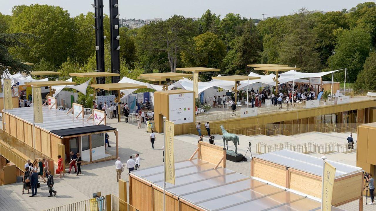 L'université d'été du Medef, rebaptisée, «rencontre des entrepreneurs de France», s'est ouverte ce mercredi, à l'hippodrome de Longchamp, à Paris.