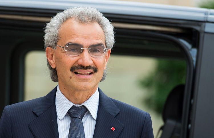 Al Walid ben Talal ben Abdelaziz Al Saoud, à Paris en septembre 2016.