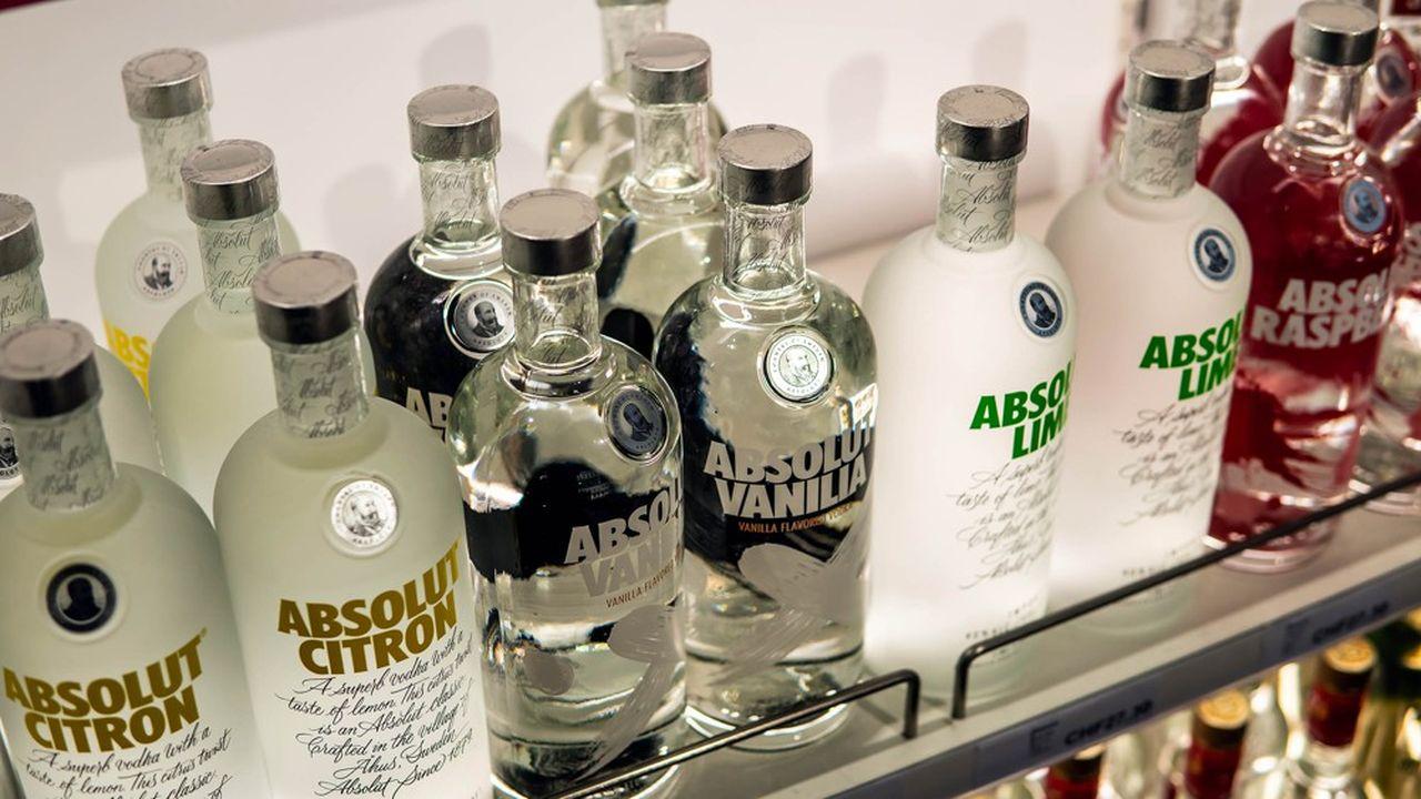 La concurrence n'a cessé de se renforcer sur le marché américain dela vodka, où cet alcool porté par le goût pour les cocktails, est le premier consommé.