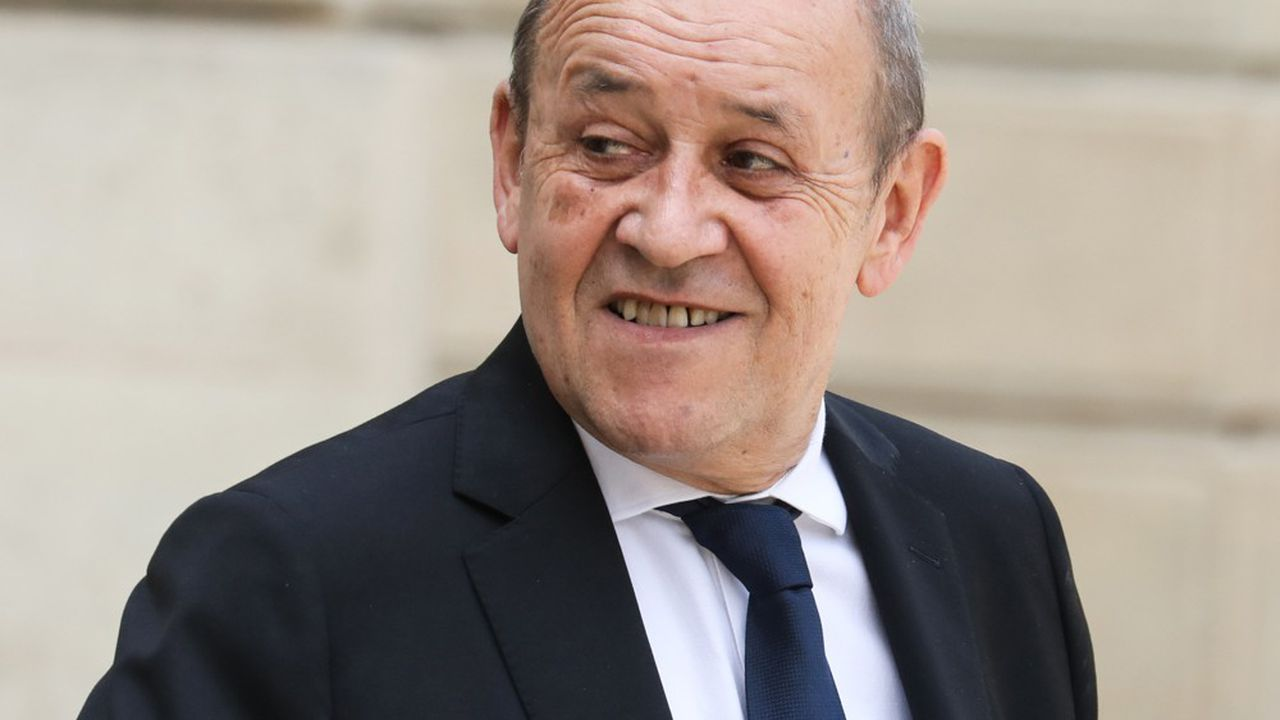 Jean-Yves Le Drian, le ministre des Affaires étrangères.