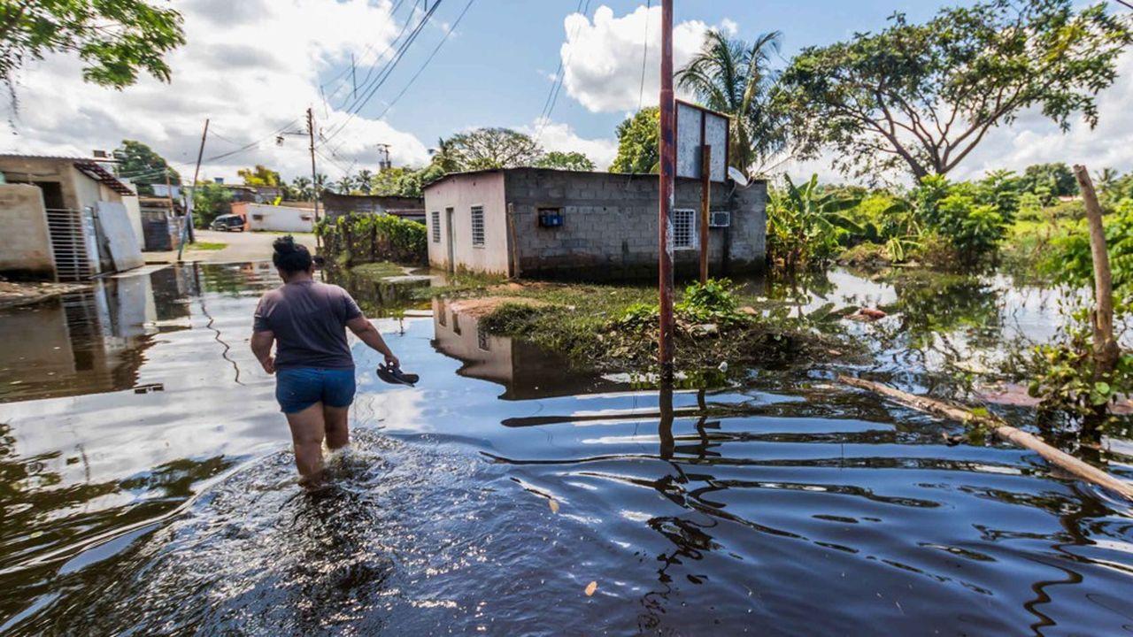 A San Félix, auVenezuela, les débordements de l'Orénoque ont provoqué de multiples dommages sanitaires et matériels en août dernier. Il faut mieux prendre en charge la vulnérabilité des régions les plus pauvres face aux bouleversements climatiques.