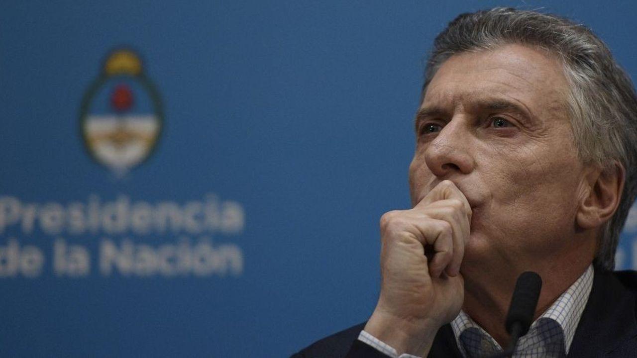 Face au dollar, la monnaie argentine a chuté de près de plus de 20% en trois semaines et de 70% depuis janvier2018
