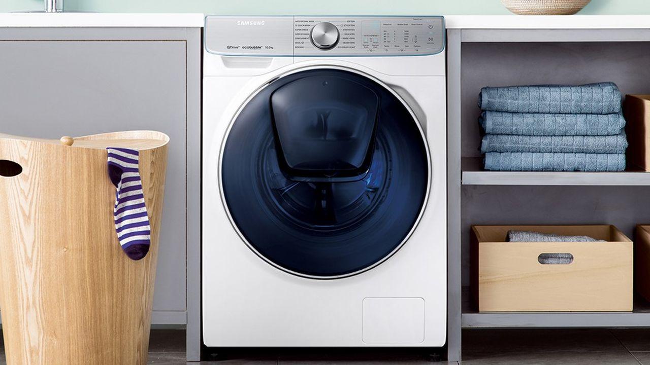 La machine à laver Samsung avec un hublot additionnel pour recharger le linge en cours de cycle a fait un carton.