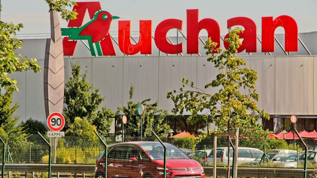 Les ventes d'Auchan en France ont encore légèrement baissé.