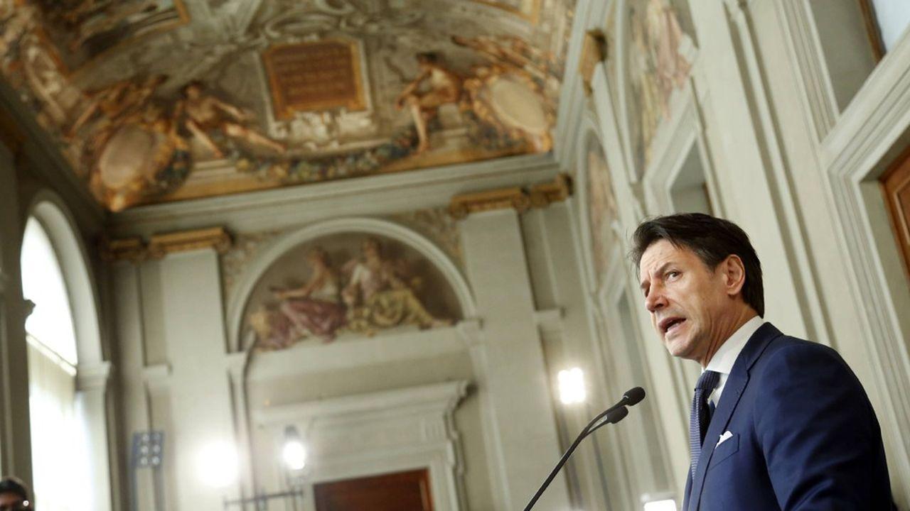 Giuseppe Conte, chargé par le président de la République de former un nouveau gouvernement.