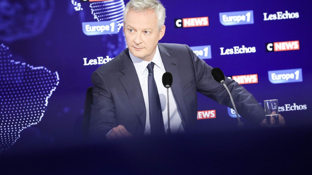 «Le temps 2 du quinquennat, c'est autant d'énergie et plus d'écoute», a plaidé Bruno Le Maire au micro du «Grand Rendez-vous» Europe 1 - CNews - «Les Echos».