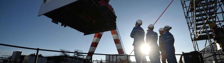 Selon l'accord franco-italien conclu en 2017, Fincantieri doit acquérir 50% du capital du chantier naval français, plus 1% supplémentaire prêté par l'Etat français.
