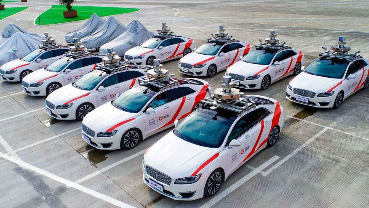 En raison de la complexité du trafic, le programme de robots taxis de Didi combinera, dans un premier temps, des véhicules autonomes et des véhicules à conduite humaine