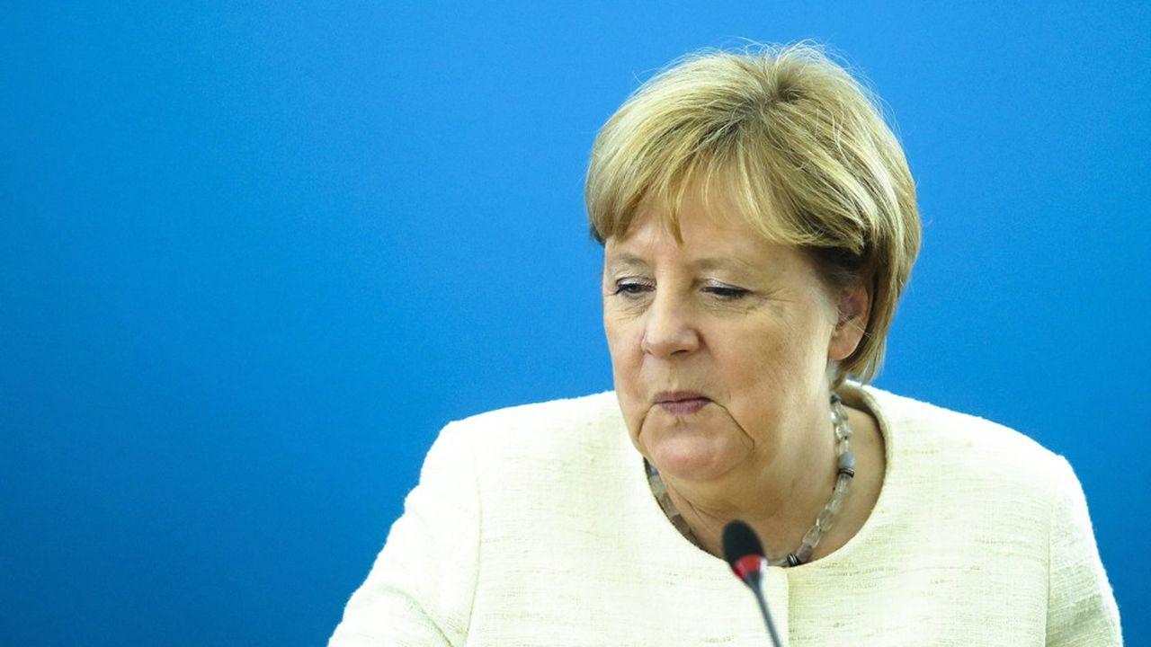 Les sociaux-démocrates et les conservateurs de l'Union CDU-CSU qui composent le gouvernement d'Angela Merkel ne peuvent prendreque comme une sanction leurs piètres résultats électoraux en Saxe et dans le Brandebourg.