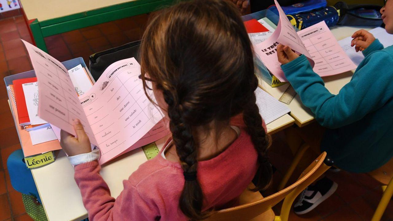 Les mesures de dédoublement «produisent des résultats en termes qualitatifs, ce sont les professeurs des écoles qui le disent», affirmait, lundi, Edouard Philippe.