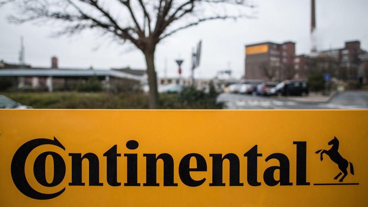 La division transmission de Continental réalise environ 8milliards d'euros de chiffre d'affaires.