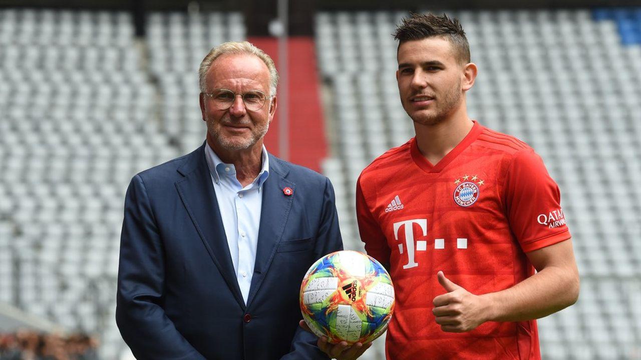 Le champion du monde Lucas Hernandez est une des nouvelles têtes d'affiche du Bayern Munich.