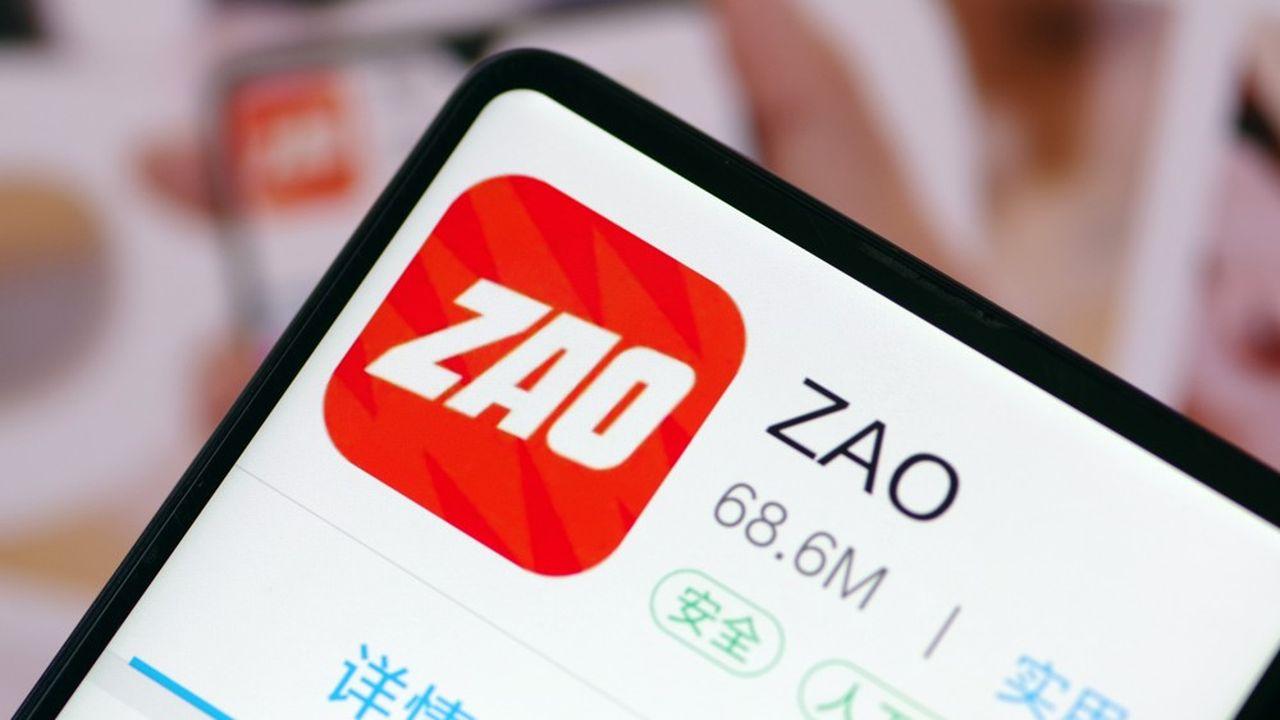Disponible depuis vendredi dernier, Zao est l'application la plus téléchargée en Chine sur iPhone, selon App Annie.