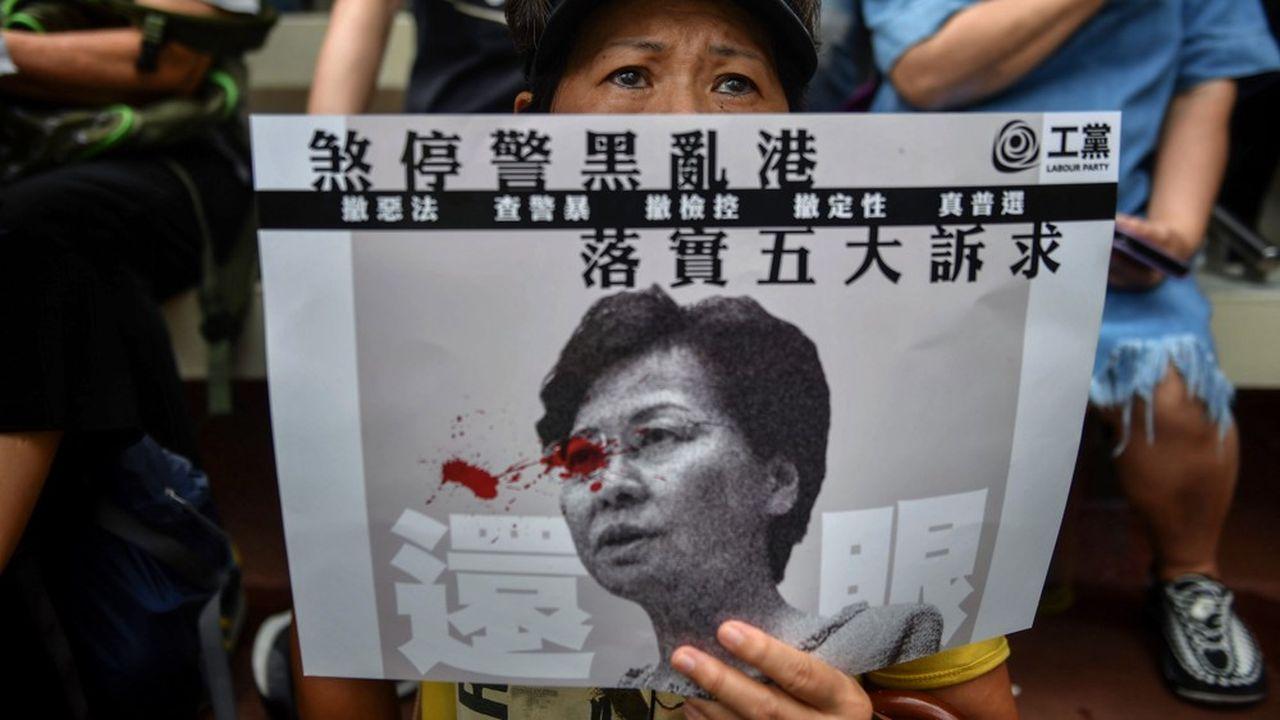 Carrie Lam, La cheffe de l'exécutif de l'ex-colonie britannique, a annoncé ce mercredi après-midi le retrait pur et simple du projet de loi d'extradition vers la Chine à l'origine de la grave crise politique à Hong Kong.