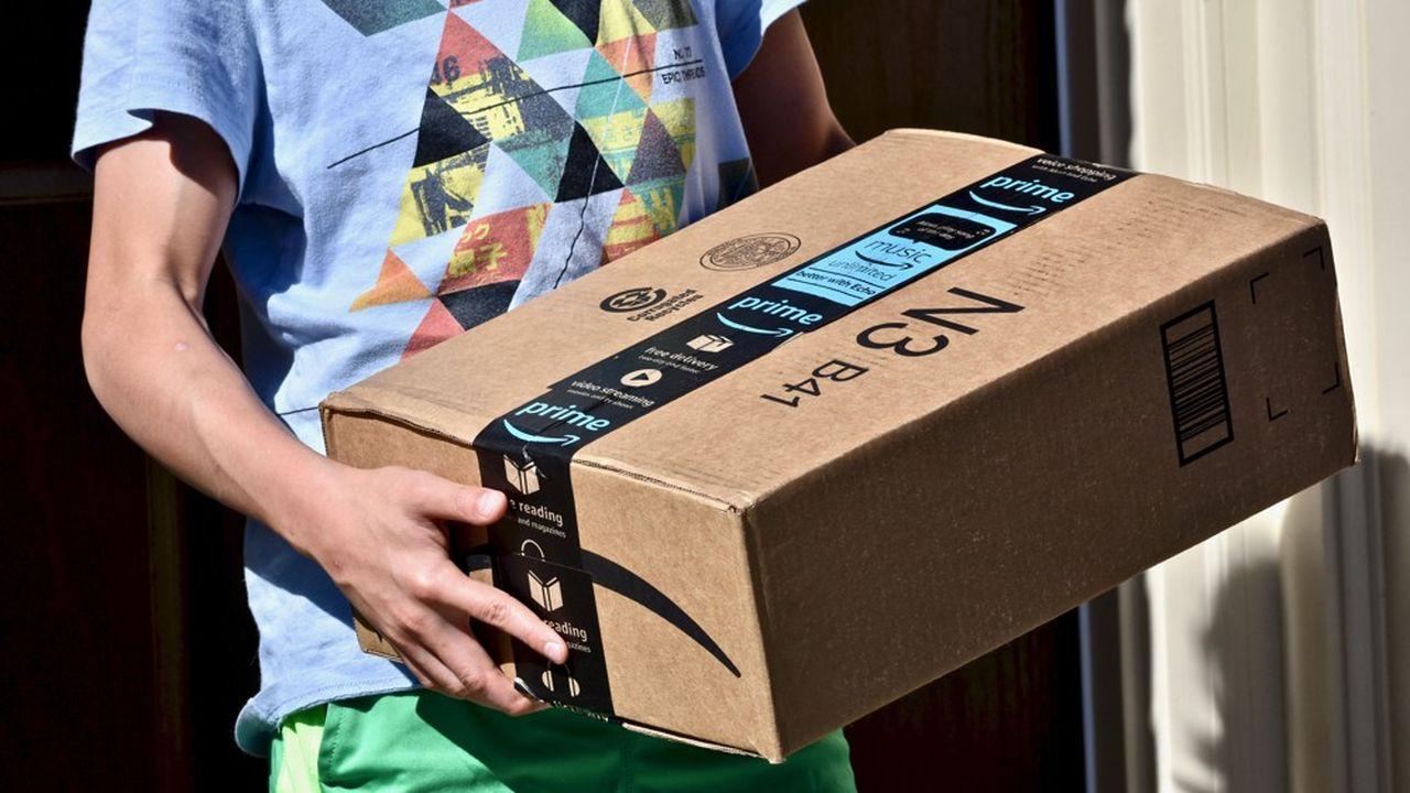 Les marchands tiers représentent 58% de l'activité du site marchand Amazon.