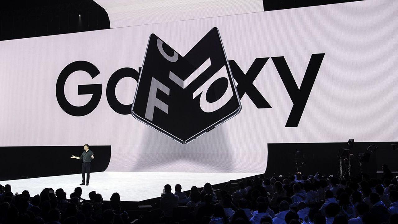 Samsung avait présenté son Galaxy Fold en février2019