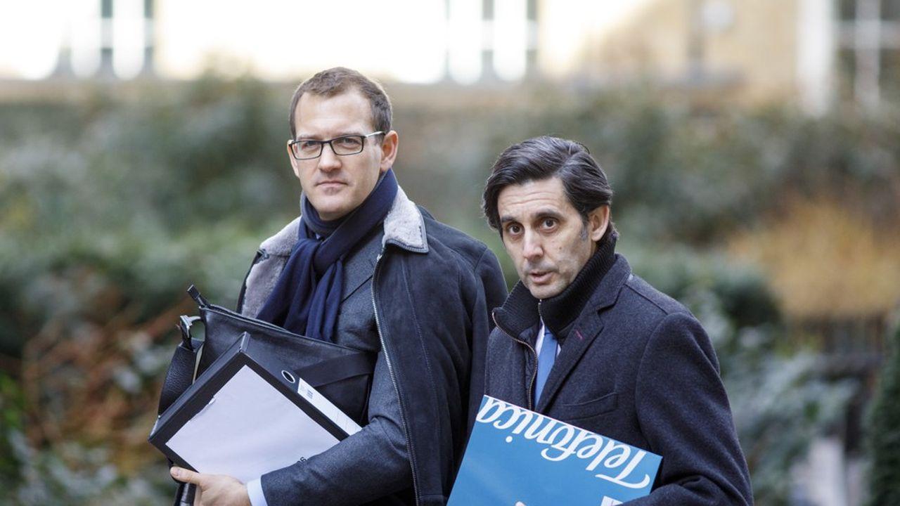 Daniel Kretinsky (à gauche) multiplie les investissements en France depuis plusieurs mois