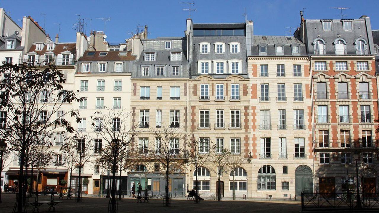 D'après les avant-contrats des notaires, la pierre parisienne atteindrait les 10.280euros le mètre carré en octobre