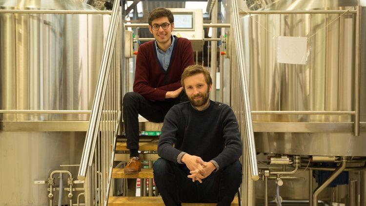 Jacques Ferté, 36 ans, et Guillaume Roy, 35 ans, ont repris la marque Gallia, il y a 10 ans