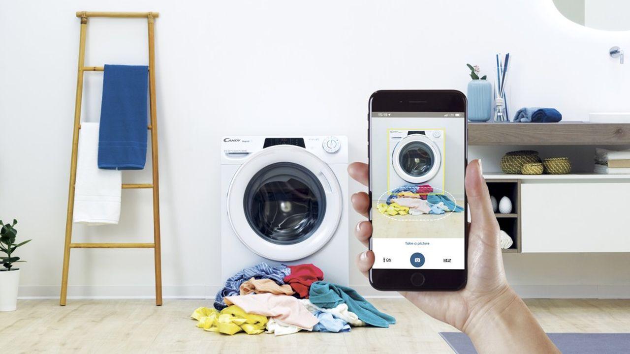 Candy va présenter à Berlin sa nouvelle machine à laver dotée de 9 programmes de lavages rapides, selon la nature du linge. Une fonction utilisée selon les données collectées par l'italien par 65% de ses clients.