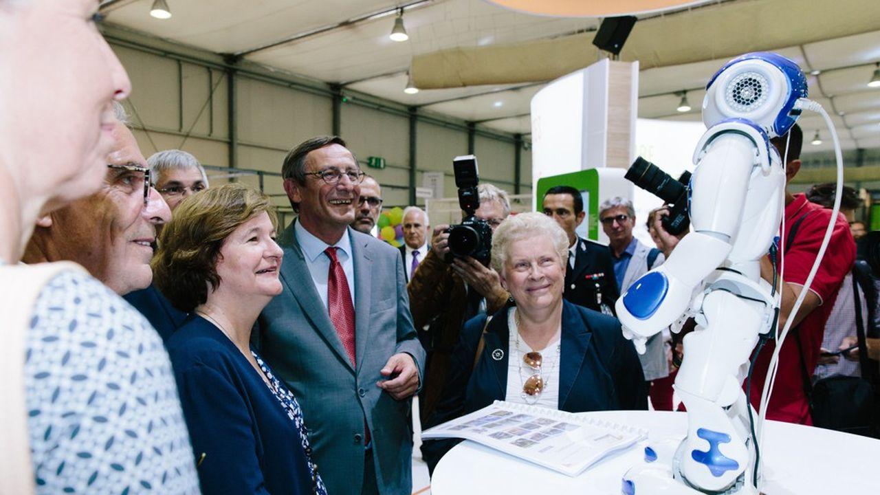 En 2018, c'est Nathalie Loiseau, alors ministre chargée des Affaires européennes qui avait inauguré la foire de Strasbourg.